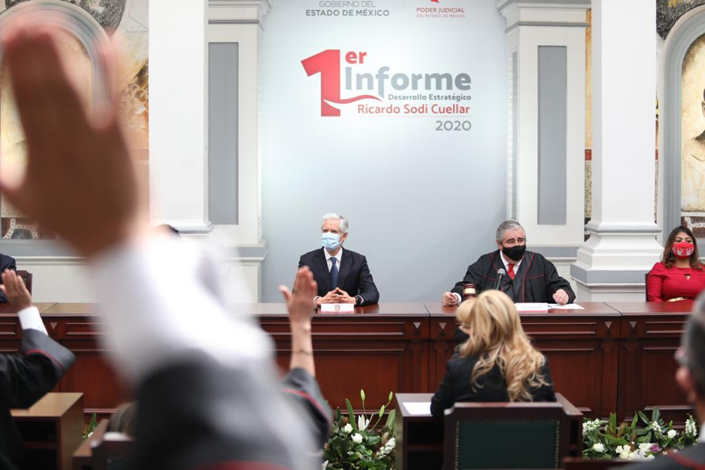 EDOMÉX AVANZA EN LA CONSTRUCCIÓN DE UNA JUSTICIA ACCESIBLE A LA CIUDADANÍA: ALFREDO DEL MAZO