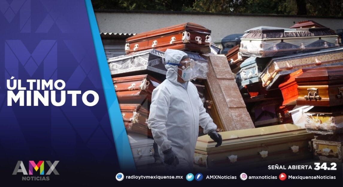 MÉXICO CONTABILIZA 172 MIL 557 FALLECIMIENTOS A CAUSA DEL COVID-19