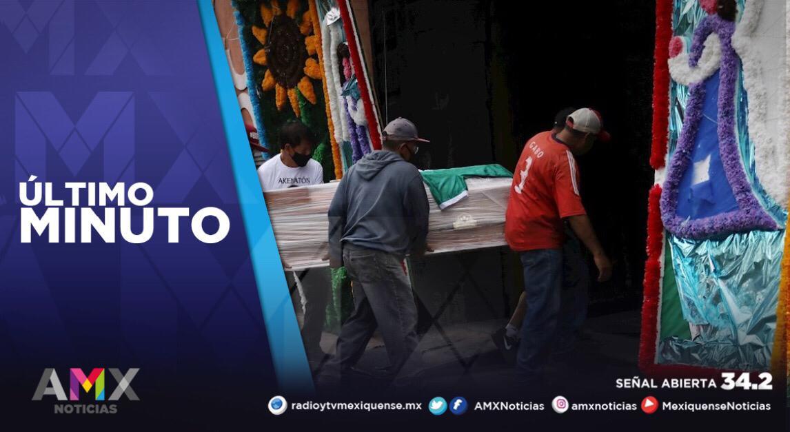 MÉXICO ACUMULA 173 MIL 771 FALLECIMIENTOS A CAUSA DEL COVID-19