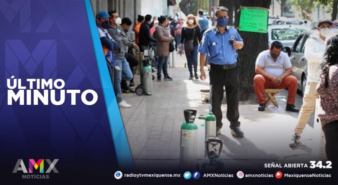 MÉXICO ACUMULA 175 MIL 986 FALLECIMIENTOS A CAUSA DEL COVID-19