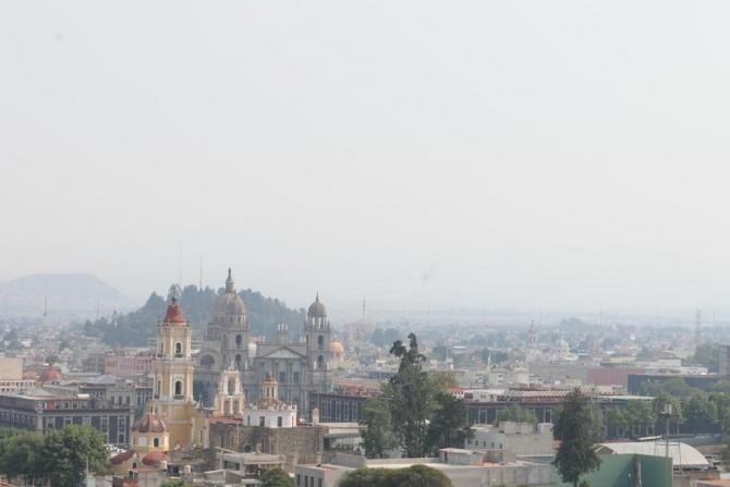 HAY MALA CALIDAD DE AIRE EN EL VALLE DE TOLUCA