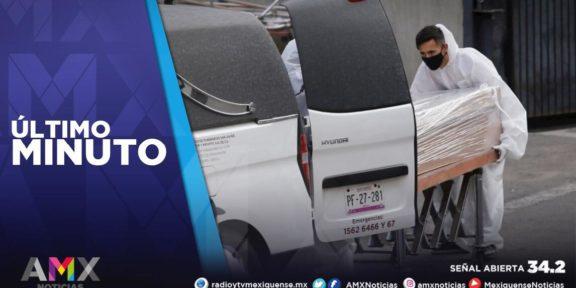 MÉXICO LLEGA A LOS 176 MIL FALLECIMIENTOS POR COVID-19