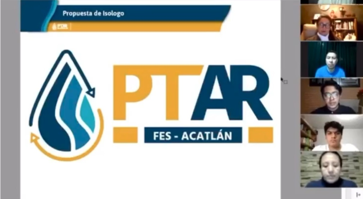 EGRESADOS DE LA FES ACATLAN DAN IDENTIDAD A LA PLANTA DE TRATAMIENTO DE AGUAS RESIDUALES DE SU ESCUELA
