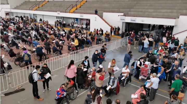 VIDEOS: ASÍ AVANZA LA VACUNACIÓN CONTRA COVID EN ECATEPEC