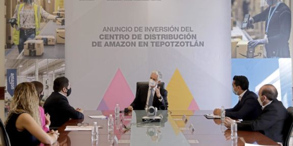 Centro de Distribución Comercial de Amazon en Tepotzotlán