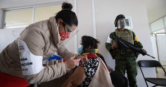 MÁS DE 1.7 MILLONES DE VACUNAS ANTICOVID SE HAN APLICADO EN MÉXICO