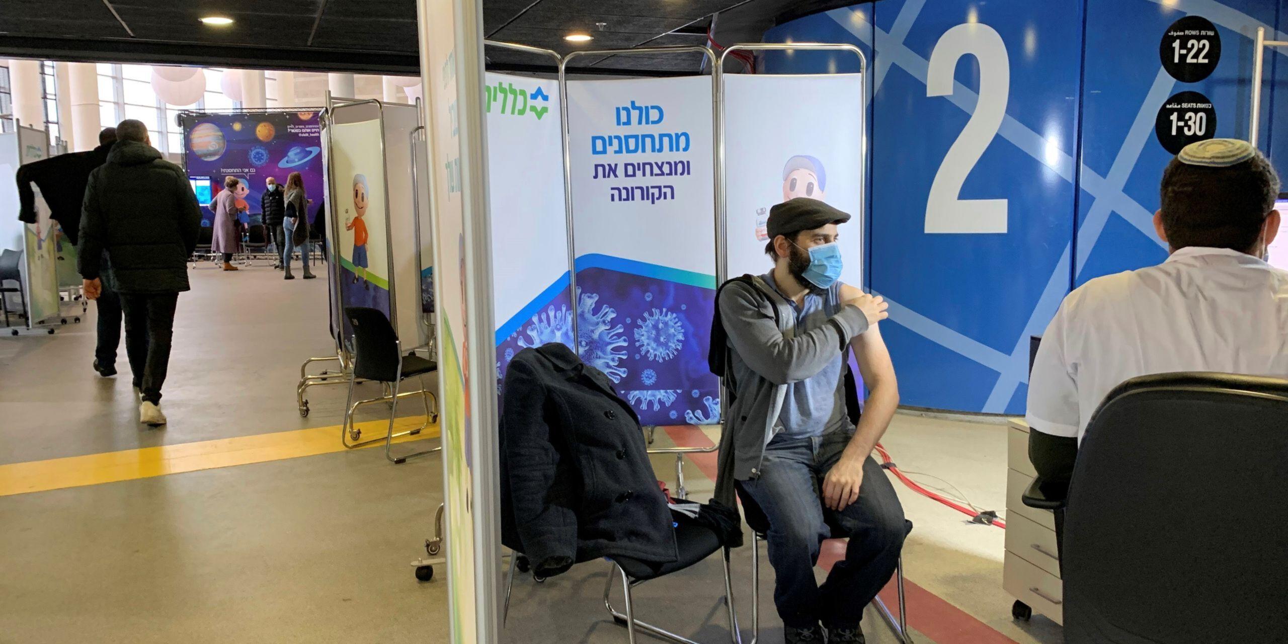 DESCIENDEN CASOS DE COVID-19 EN ISRAEL