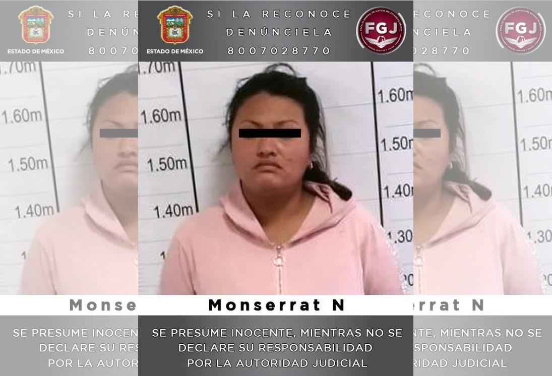 MUJER INVESTIGADA POR UN HOMICIDIO EN HUIXQUILUCAN ES INGRESADA AL PENAL DE TLALNEPANTLA