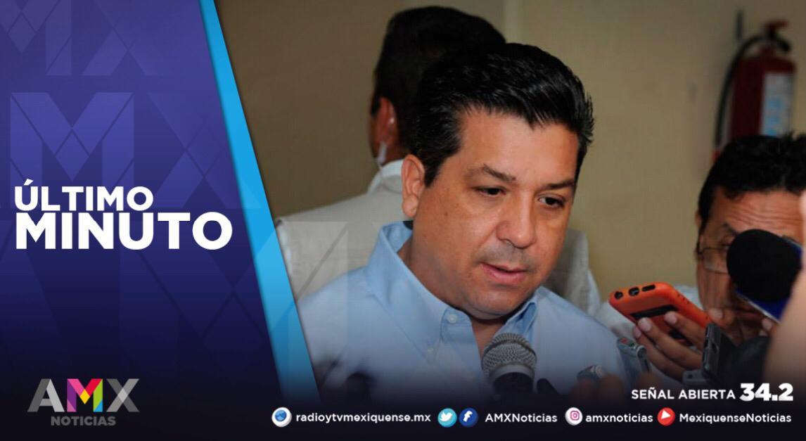 SOLICITA FGR A CÁMARA DE DIPUTADOS DESAFUERO DE GOBERNADOR DE TAMAULIPAS