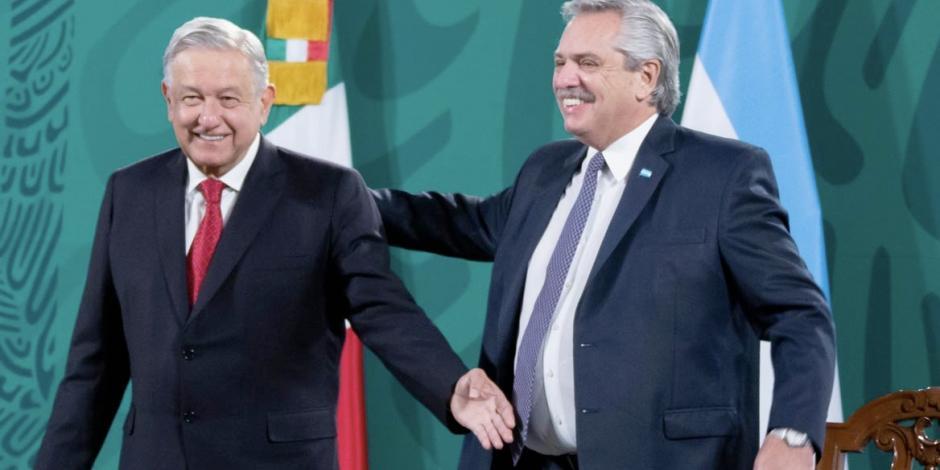 PRESIDENTES DE MÉXICO Y ARGENTINA SE PRONUNCIAN POR UNIVERSALIZACIÓN DE LAS VACUNAS
