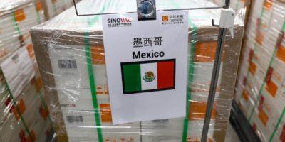 Vacunas de Sinovac llegarán a México