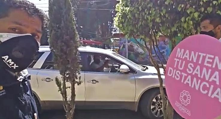 VIDEO: ALCALDÍA DE XOCHIMILCO PONE EL TRASLADO PARA QUE ADULTOS MAYORES SE VACUNEN