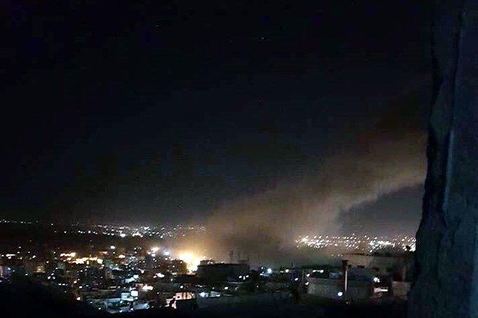 EU LANZA ATAQUE AÉREO CONTRA BASES DE MILICIAS EN SIRIA