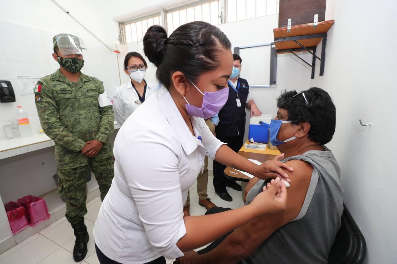 vacunación en México avanza