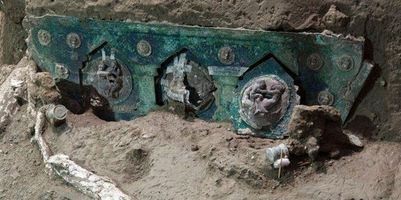 Decubrimiento en Pompeya