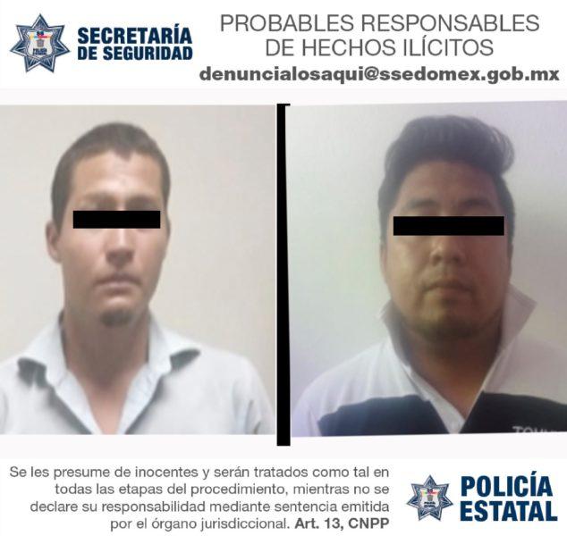 RECUPERAN EN SAN MATEO ATENCO Y ECATEPEC DOS AUTOS CON REPORTE DE ROBO