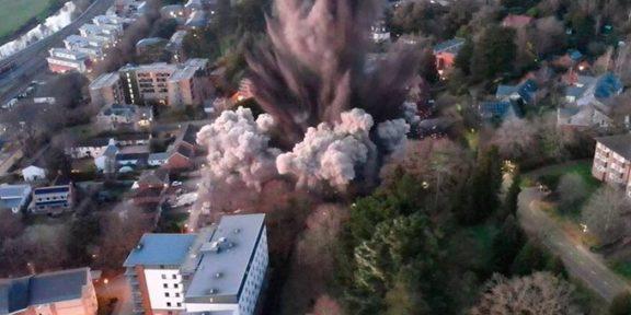 bomba de la Segunda Guerra Mundial