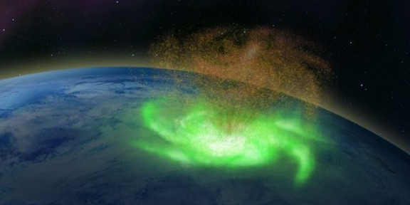 huracán espacial
