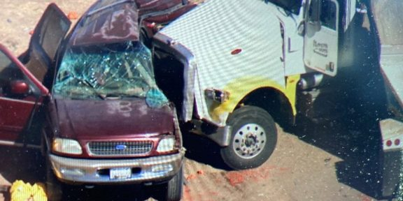Accidente en California, EEUU