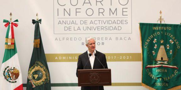 LA UAEM ENFRENTA RETOS PARA MANTENER SU CALIDAD EDUCATIVA: ALFREDO DEL MAZO