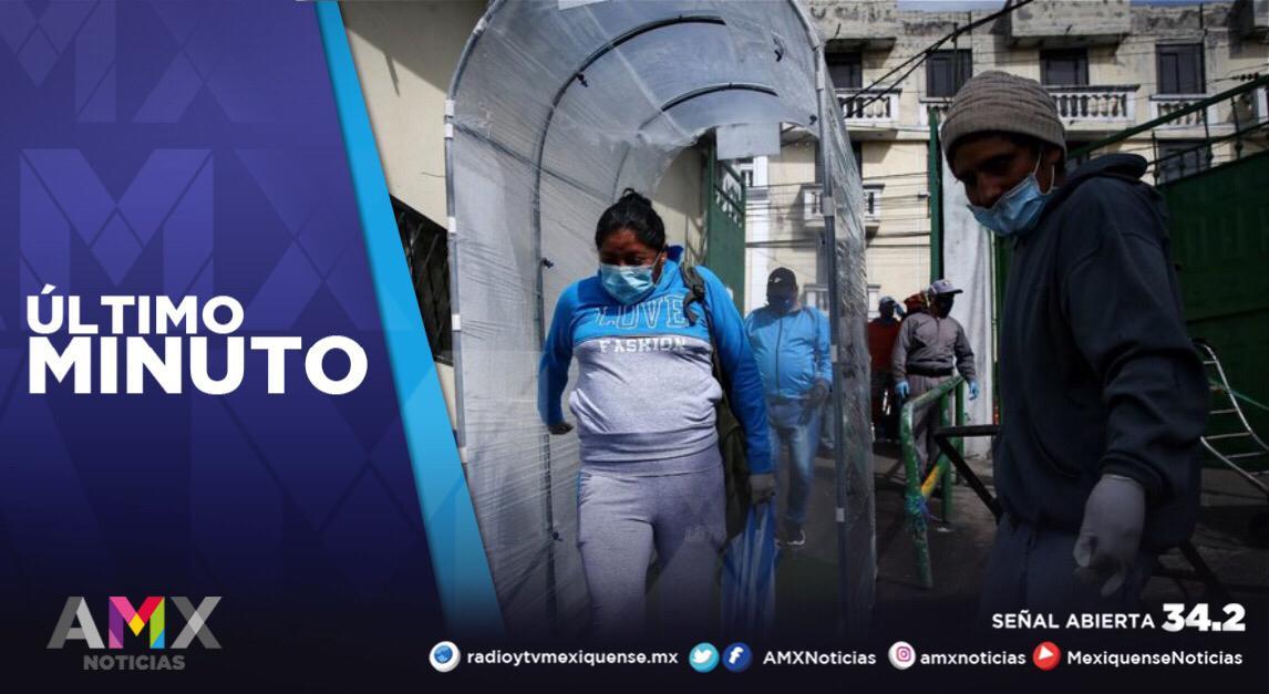 MÉXICO REGISTRA 49 MIL 627 CASOS ACTIVOS DE COVID-19