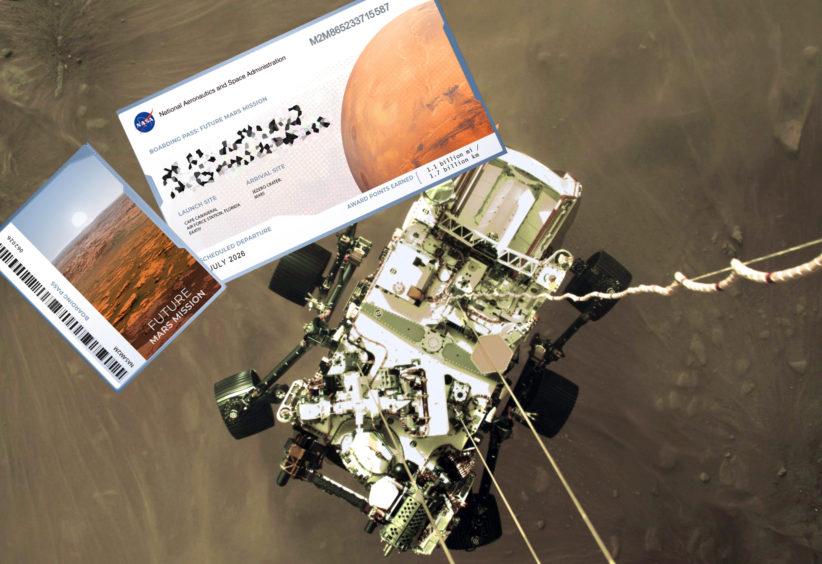 NASA ENVIÁ TU NOMBRE AL PLANETA ROJO ¿TE INTERESA?