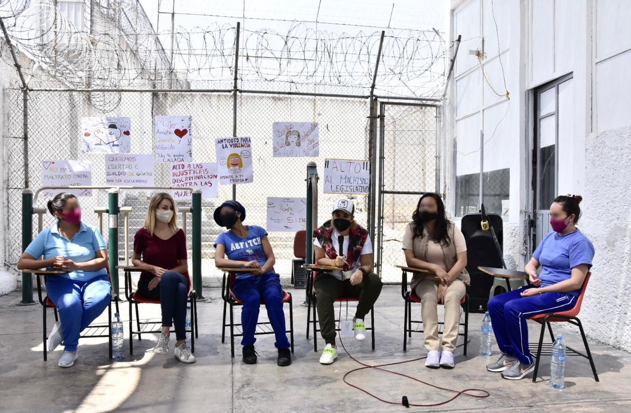 """LANZA EDOMÉX CAMPAÑA """"AISLADAS, PERO NO SOLAS"""" PARA POBLACIÓN FEMENIL EN RECLUSORIO DE ECATEPEC"""