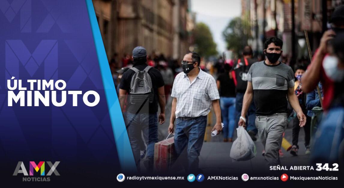 MÉXICO REGISTRA 45 MIL 085 CASOS ACTIVOS DE COVID-19