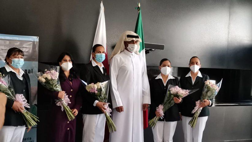 Reconocimiento a enfermeras mexicanas
