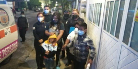 LOCALIZAN A DOS NIÑOS EN EL MUNICIPIO DE LOS REYES LA PAZ