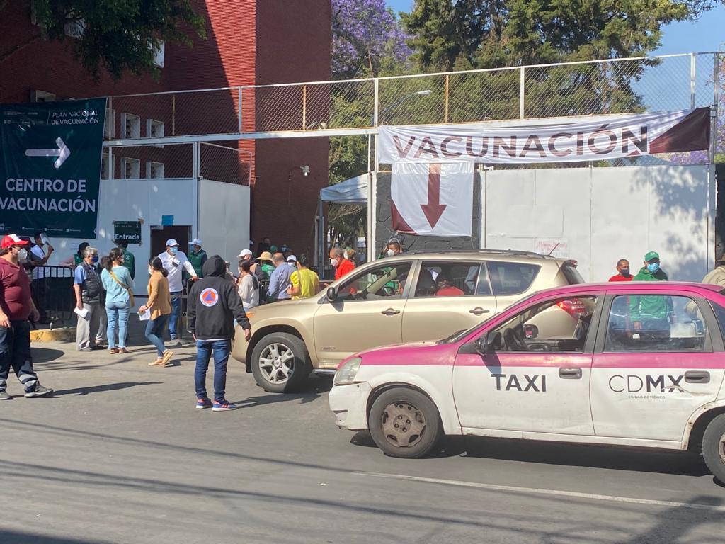 POCA AFLUENCIA REGISTRÓ EL ÚLTIMO DÍA DE VACUNACIÓN EN LA ALCADÍA MIGUEL HIDALGO
