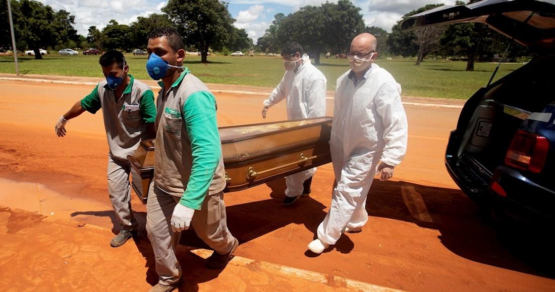 REGISTRA BRASIL NUEVO RÉCORD DE MUERTES POR COVID-19 EN UN DÍA
