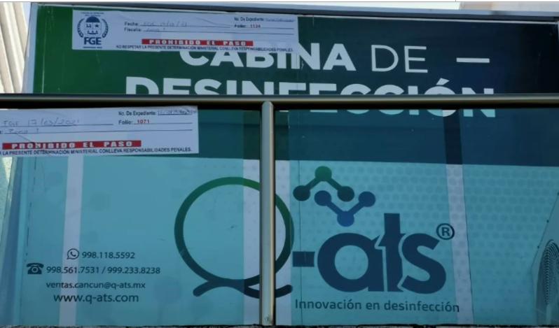 CLAUSURAN LABORATORIO EN CANCÚN DONDE ARGENTINOS SE REALIZARON PRUEBAS COVID-19