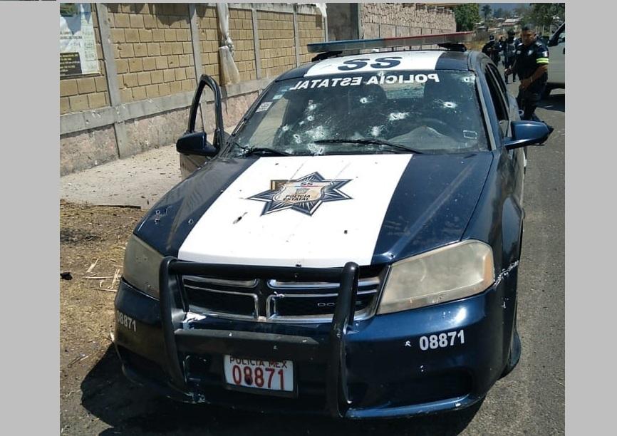 ATACAN A POLICÍAS ESTATALES Y MINISTERIALES EN COATEPEC HARINAS