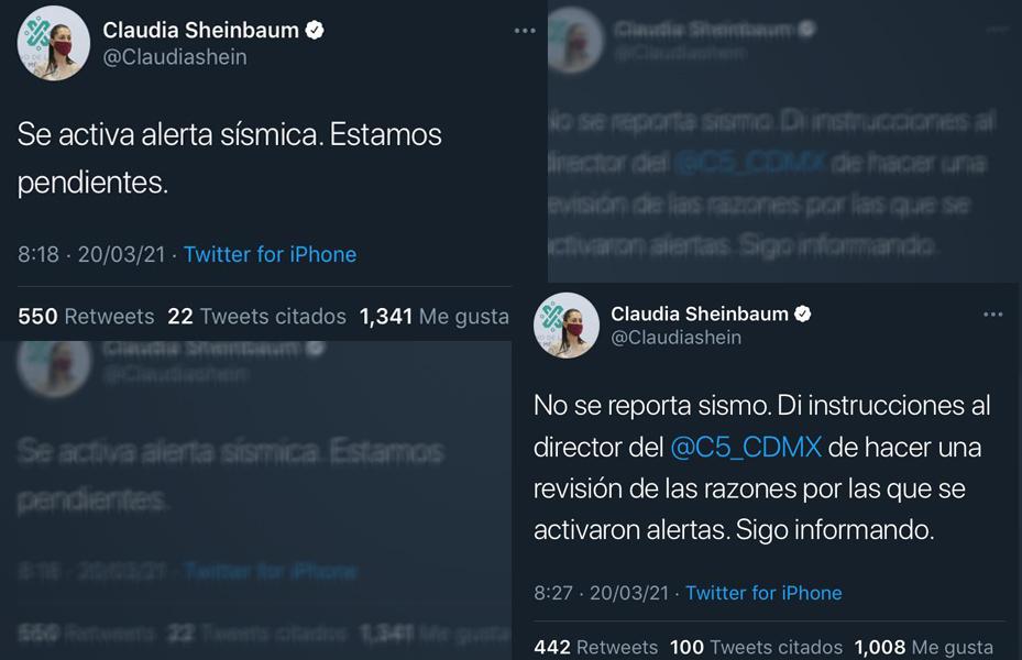 FALSA ALARMA PROVOCA ALERTA SÍSMICA EN LA CDMX