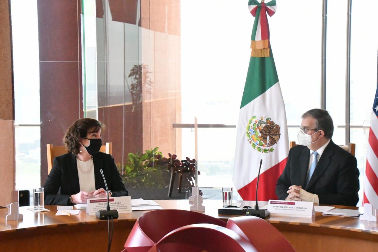 MÉXICO Y EEUU COINCIDEN EN ATENDER A FONDO LAS CAUSAS DE LA MIGRACIÓN EN CENTROAMÉRICA