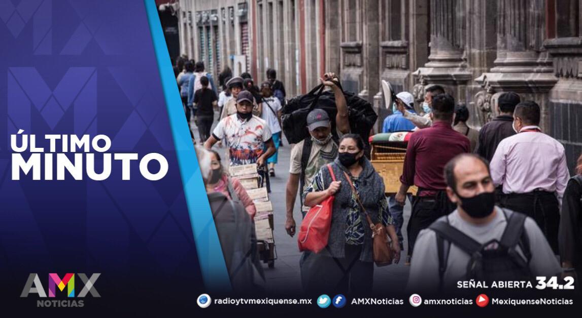 MÉXICO REGISTRA 34 MIL 959 CASOS ACTIVOS DE COVID-19