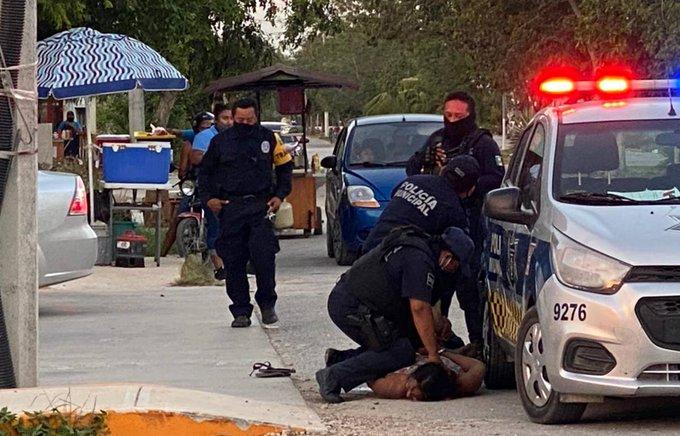 DETIENEN A POLICÍAS INVOLUCRADOS EN MUERTE DE MUJER SOMETIDA EN TULUM