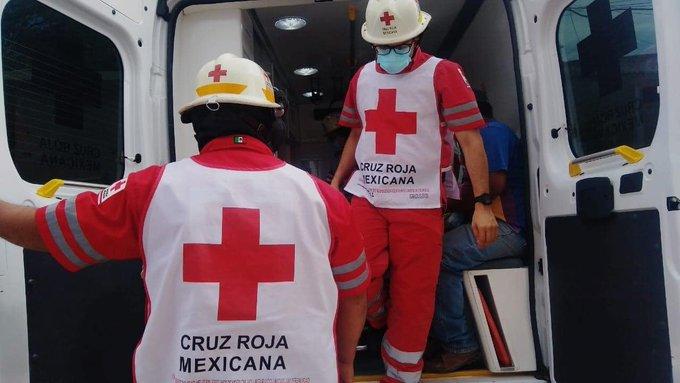 CRUZ ROJA MEXICANA PREPARADA PARA PARTICIPAR EN EL PROCESO DE VACUNACIÓN CONTRA COVID-19