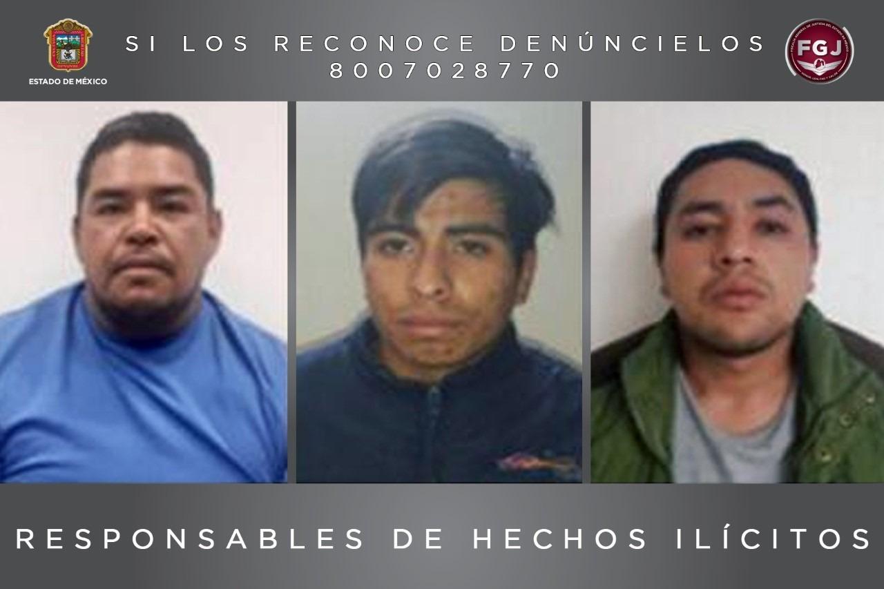 CONDENAN A 55 AÑOS DE PRISIÓN A TRES SUJETOS ACUSADOS DE UN DOBLE HOMICIDIO EN OCOYOACAC