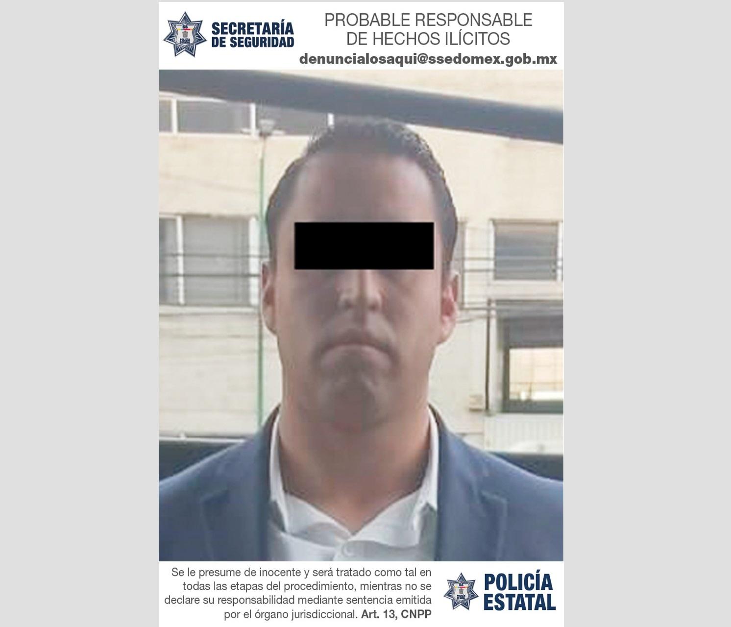 DETIENEN A UN HOMBRE POR EL DELITO DE PORTACIÓN ILEGAL DE ARMA DE FUEGO