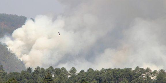 EDOMÉX HA COMBATIDO 911 INCENDIOS FORESTALES
