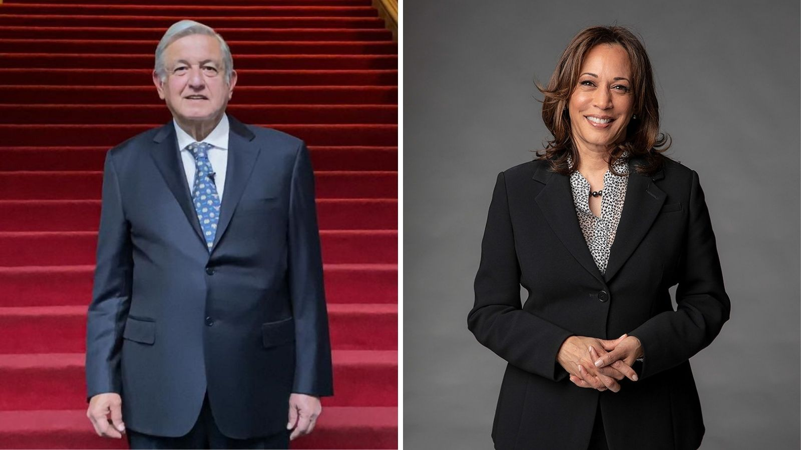 PRESIDENTE AMLO Y VICEPRESIDENTA DE EEUU, KAMALA HARRIS, CONVERSARON SOBRE MIGRACIÓN