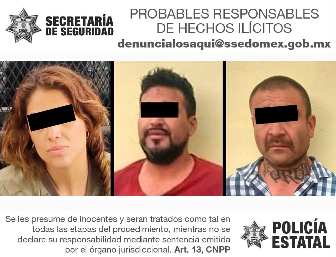 LOCALIZAN VEHÍCULO ROBADO, ASEGURAN PREDIO Y DETIENEN A 3 POSIBLES RESPONSABLES