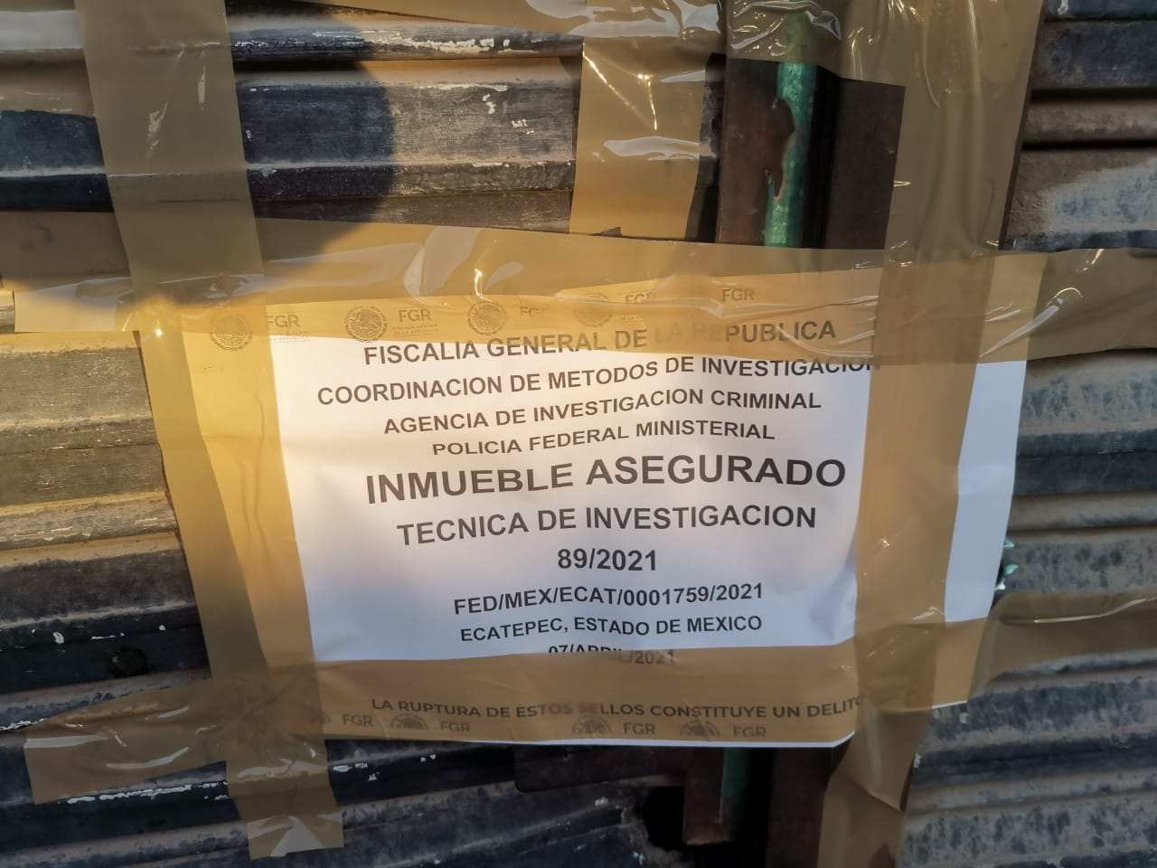 LOCALIZA FGR TOMA CLANDESTINA DE COMBUSTIBLE EN ECATEPEC