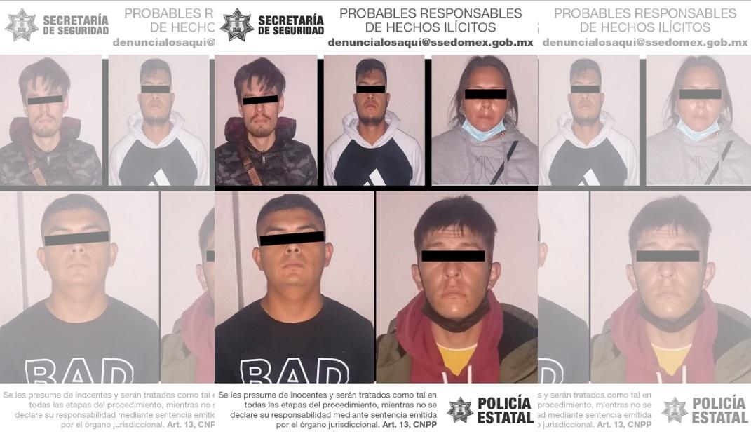 FRUSTRAN ROBO EN PROCESO A CAJERO AUTOMÁTICO Y DETIENEN A CINCO PERSONAS