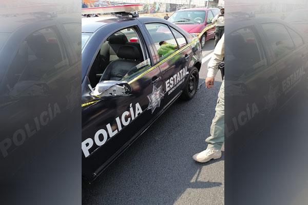 UN POLICÍA MUERTO Y UN HERIDO ES EL SALDO DE UN ATAQUE EN TECÁMAC
