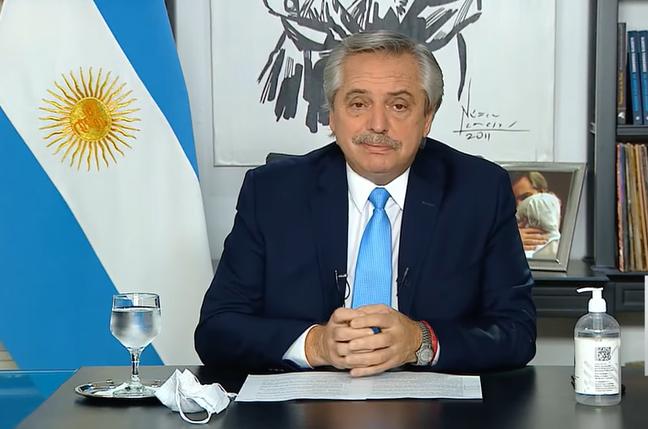 DAN DE ALTA AL PRESIDENTE DE ARGENTINA TRAS ENFERMAR DE COVID
