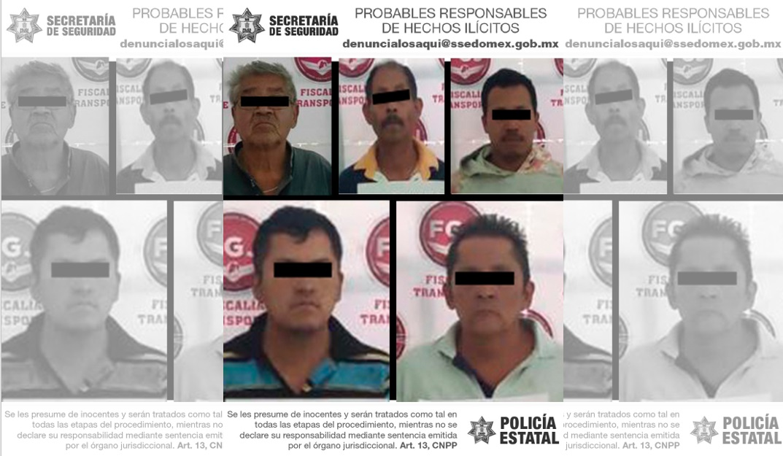 LOCALIZAN AUTOPARTES DE VEHÍCULO CON REPORTE DE ROBO Y DETIENEN A CINCO POSIBLES RESPONSABLES