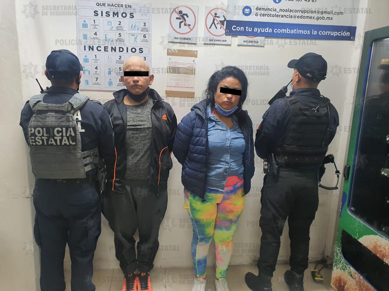 DETIENEN EN FLAGRANCIA A DOS INDIVIDUOS POR ROBO DE VEHÍCULO CON VIOLENCIA